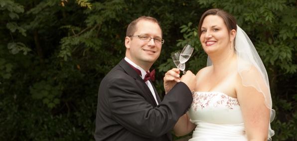 Lorna Niall Drinking Champagne