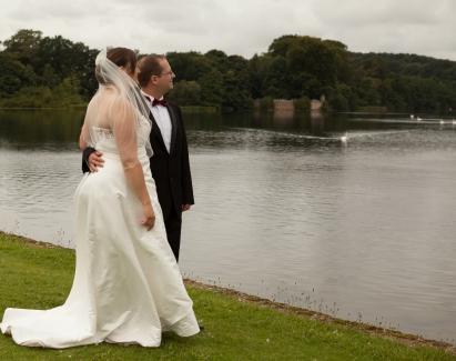 Lorna Niall Gazing Over Lake