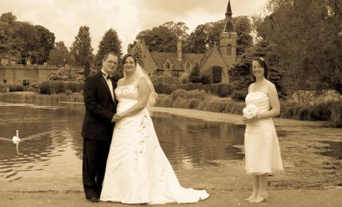 Lorna Niall Gazing Stood by Lake with CherryAntique